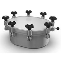 Oval Pressure Cover